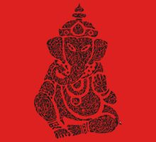 Ink Rain Ganesha Kids Clothes