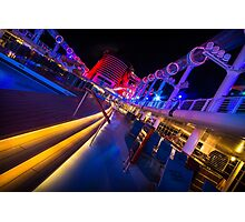 The Dead of Night on Deck 11 Photographic Print