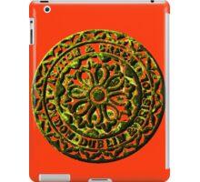 Coalhole cover - rustic iPad Case/Skin