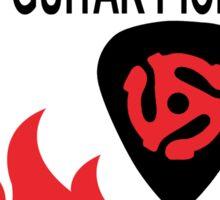 In Case of Fire - Rescue my PJ guitar Picks Sticker