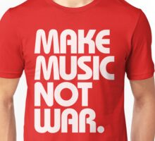 Make Music Not War (Classic) Unisex T-Shirt