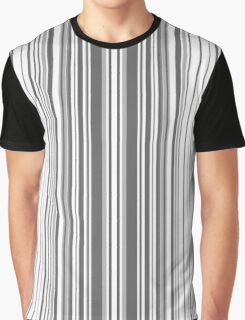 Abstraction . Black and white stripe.  Graphic T-Shirt