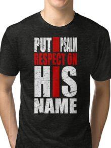 Psalm Respect Cross Tri-blend T-Shirt