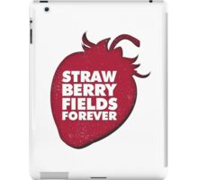 Strawberry Fields Forever T-shirt iPad Case/Skin