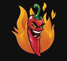 Evil red hot chili pepper Hoodie