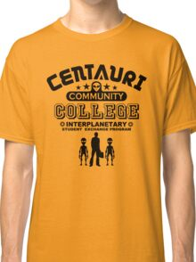 Geek Sci-Fi Alien Community College Student Exchange Classic T-Shirt