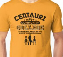 Geek Sci-Fi Alien Community College Student Exchange Unisex T-Shirt