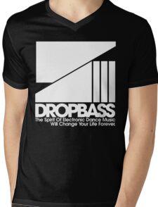 DropBass Logo (New) Mens V-Neck T-Shirt