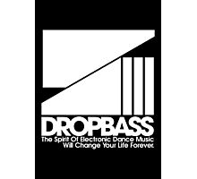 DropBass Logo (New) Photographic Print
