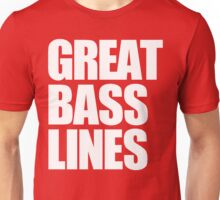 Great Bass Lines Unisex T-Shirt
