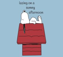 Snoopy - lazing Kids Tee