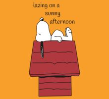 Snoopy - lazing by Shampooing