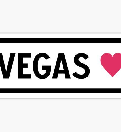 Vegas Sticker