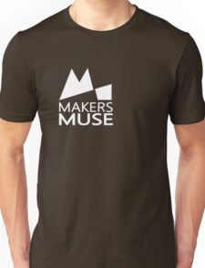Alternative Makers Muse Brand Simple White T-Shirt