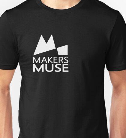 Alternative Makers Muse Brand Simple White Unisex T-Shirt