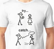 Try catch Unisex T-Shirt