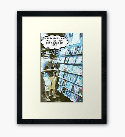 boys dream Framed Print
