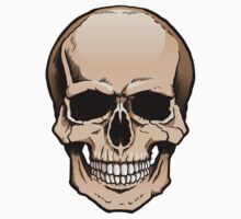 Human skull frontal view Kids Clothes
