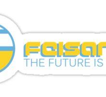 Feisar THE FUTURE IS EURO Shirt  Sticker