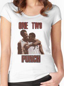 Kyle Lowry X Demar Derozan Women's Fitted Scoop T-Shirt