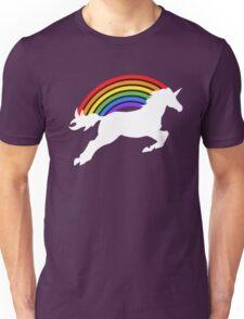 Retro Rainbow Unicorn Unisex T-Shirt