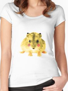 Realistic Pikachu Women's Fitted Scoop T-Shirt