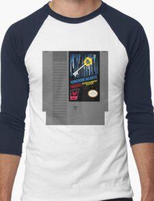 Kingdom Hearts NES Cartridge Men's Baseball ¾ T-Shirt