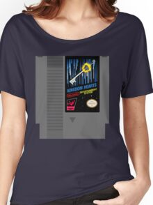 Kingdom Hearts NES Cartridge Women's Relaxed Fit T-Shirt