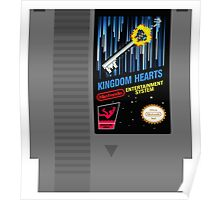 Kingdom Hearts NES Cartridge Poster