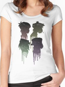 Demon Days Drip  Women's Fitted Scoop T-Shirt