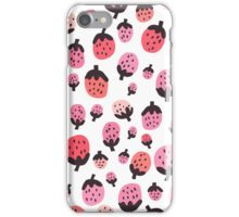 Strawberry Pinks iPhone Case/Skin