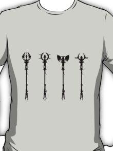 Elemental Staffs [CoD Zombies] T-Shirt