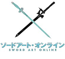 Sword Art Online Logo and Swords by robkillsyou