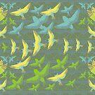 Bird Flight by SuburbanBirdDesigns By Kanika Mathur