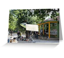 Film set in Pico de la Miel Greeting Card
