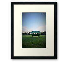 Alien curmudgeons Framed Print