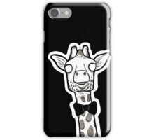 Wide Eyed Giraffe iPhone Case/Skin