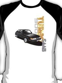 T-shirt Graphic car art- Saab 900 turbo T-Shirt