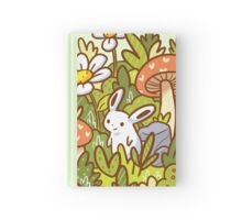 Bunny in a Bottle Hardcover Journal