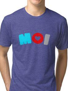 Moi (Autosexual) Tri-blend T-Shirt