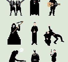 Men in Black by Eric Fan