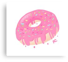 Donut Time Canvas Print