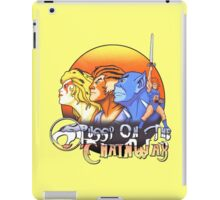 ThunderCats On The Chain Wax iPad Case/Skin