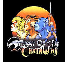 ThunderCats On The Chain Wax Photographic Print