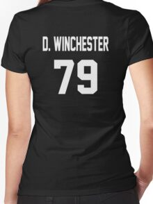 Supernatural Jersey (Dean Winchester) Women's Fitted V-Neck T-Shirt