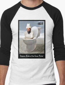 Islamic State of the Inner Toilet Men's Baseball ¾ T-Shirt