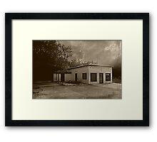 The Filling Station Framed Print