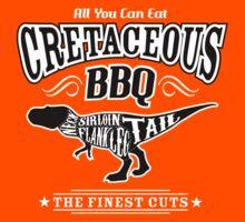 Cretaceous BBQ - Tyrannosaurus Dinosaur Meat Barbecue by TropicalToad