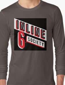 Inline 6 Society - Design #4 Long Sleeve T-Shirt