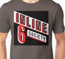 Inline 6 Society - Design #4 Unisex T-Shirt